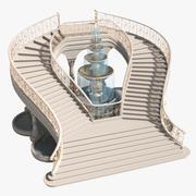 楼梯X3 3d model