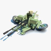 ZU-23-2 Untextured 3d model
