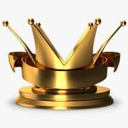 Trophy 8 Crown 2 3d model
