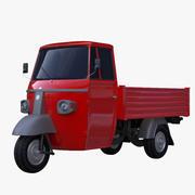 Pickup mini truck 3d model