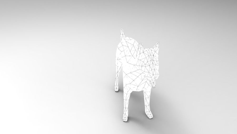 dog rigged royalty-free 3d model - Preview no. 26