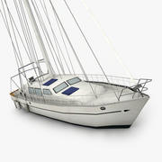 Sailboat 3 3d model