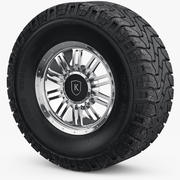 Wheel Rim Mickey Thompson 3d model