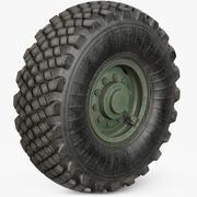Wheel Military 3d model