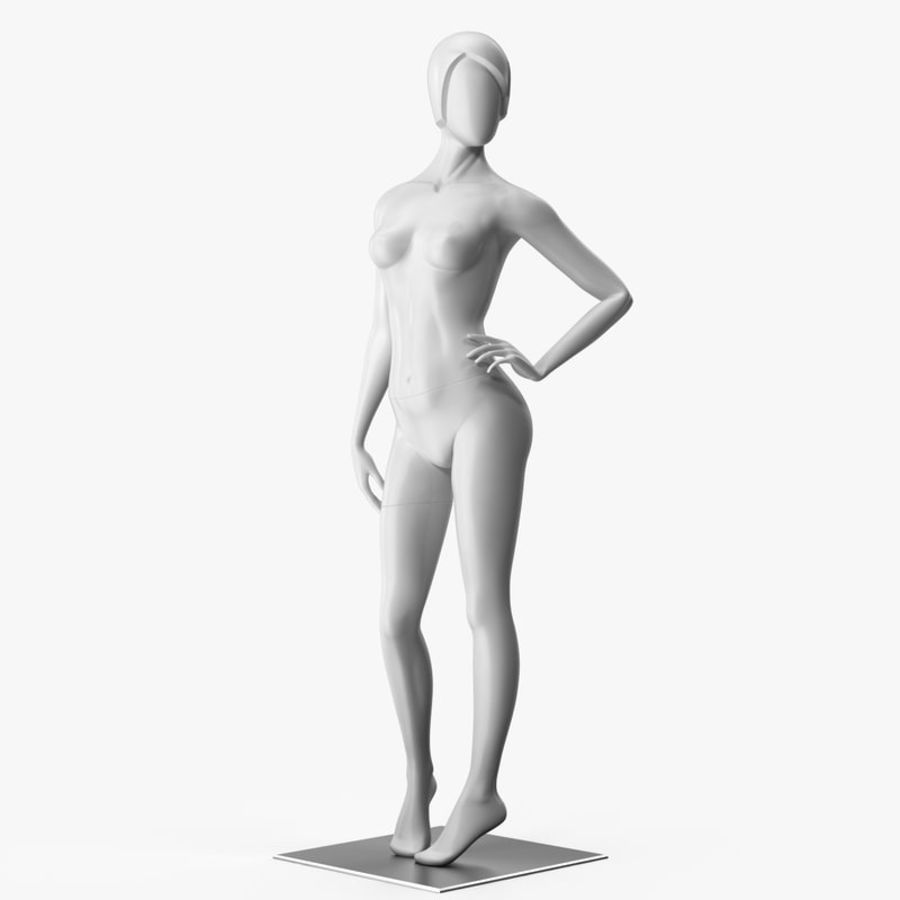 Mannequin woman rigged 3D Model $49 -  max - Free3D