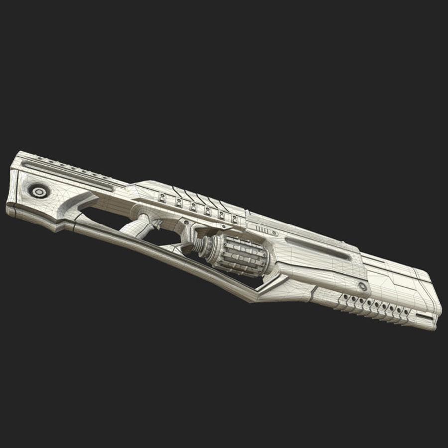Armi di fantascienza royalty-free 3d model - Preview no. 8