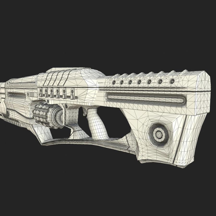 Armi di fantascienza royalty-free 3d model - Preview no. 9