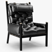 Bonham lounge chair 3d model