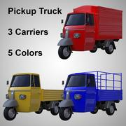 Pick-up truck set 3d model