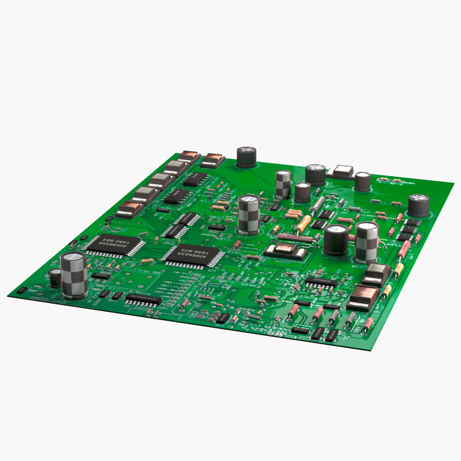 Circuit Board Electronics Electronic 3d Model 29 Fbx Obj Max Free3d Royalty Free Preview No 1