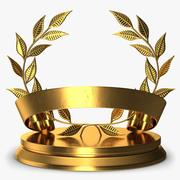 Trophy 3 Wreath 3d model
