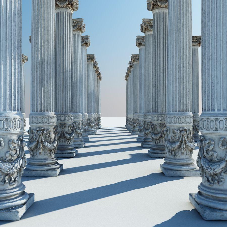 Gamla pelaren spel redo (2) (2) royalty-free 3d model - Preview no. 10