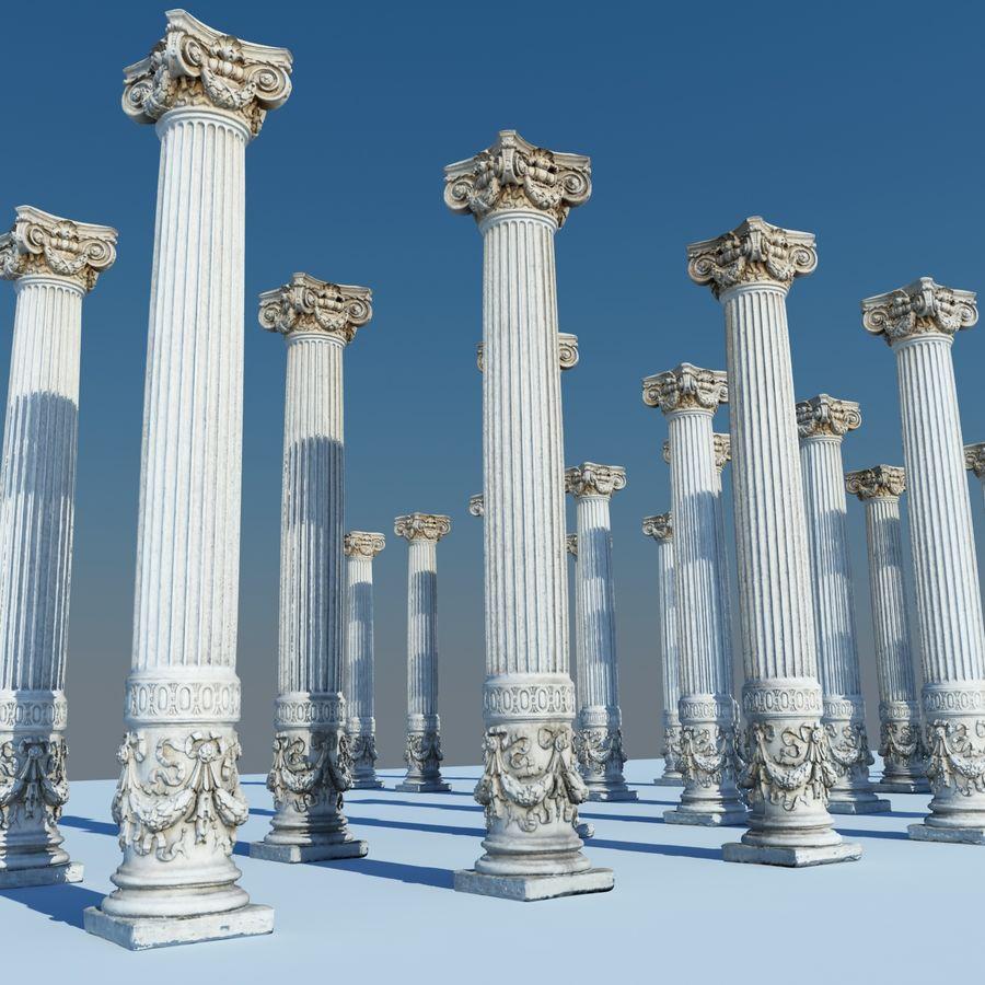Gamla pelaren spel redo (2) (2) royalty-free 3d model - Preview no. 7