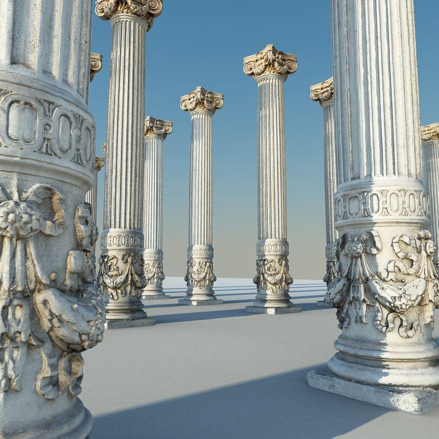 Gamla pelaren spel redo (2) (2) royalty-free 3d model - Preview no. 6