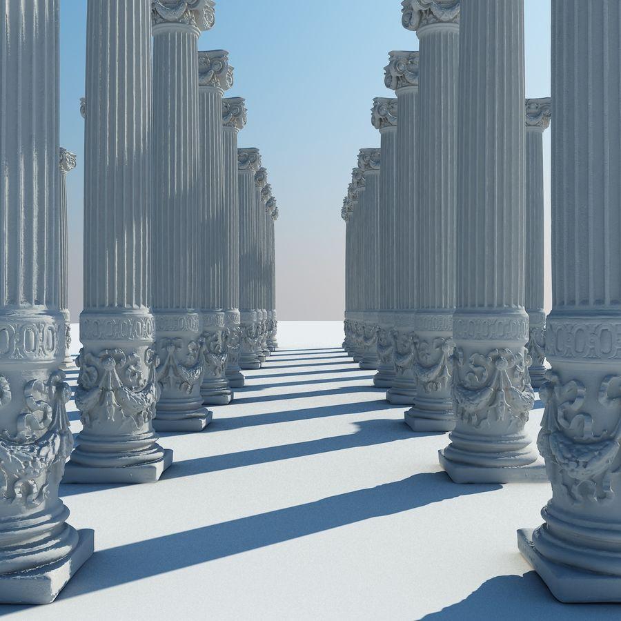 Gamla pelaren spel redo (2) (2) royalty-free 3d model - Preview no. 9