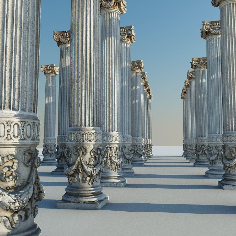 Gamla pelaren spel redo (2) (2) royalty-free 3d model - Preview no. 12