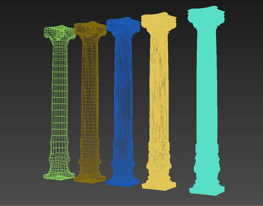 Gamla pelaren spel redo (2) (2) royalty-free 3d model - Preview no. 15