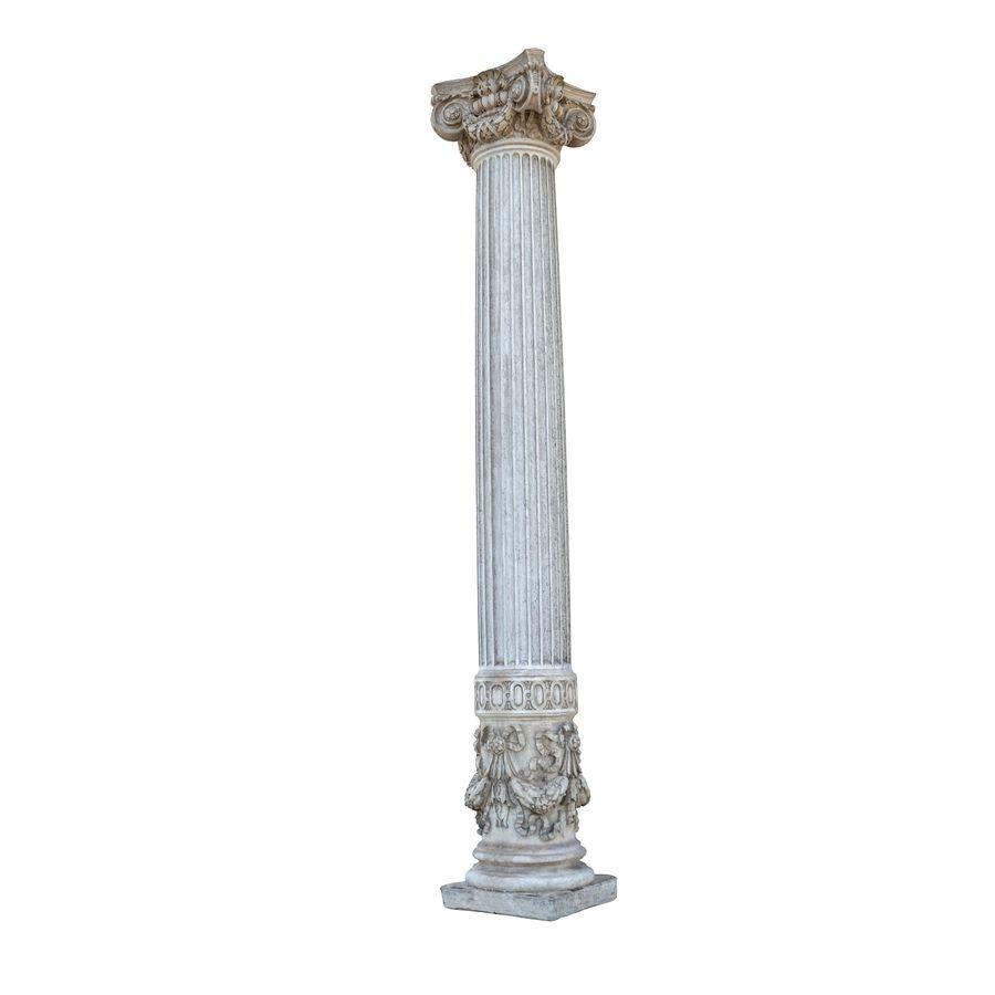Gamla pelaren spel redo (2) (2) royalty-free 3d model - Preview no. 2
