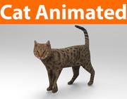 猫のアニメーション(1) 3d model