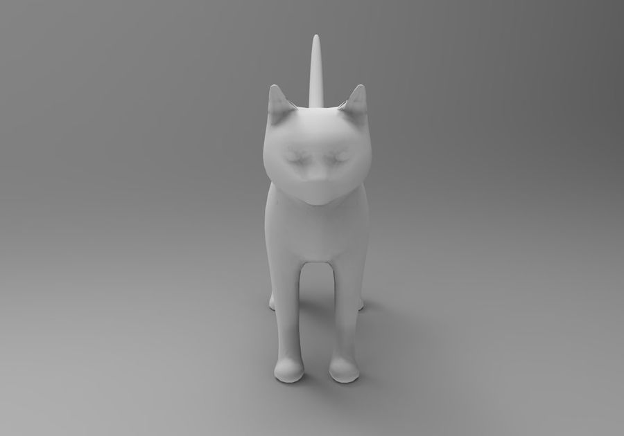 猫のアニメーション(1) royalty-free 3d model - Preview no. 25