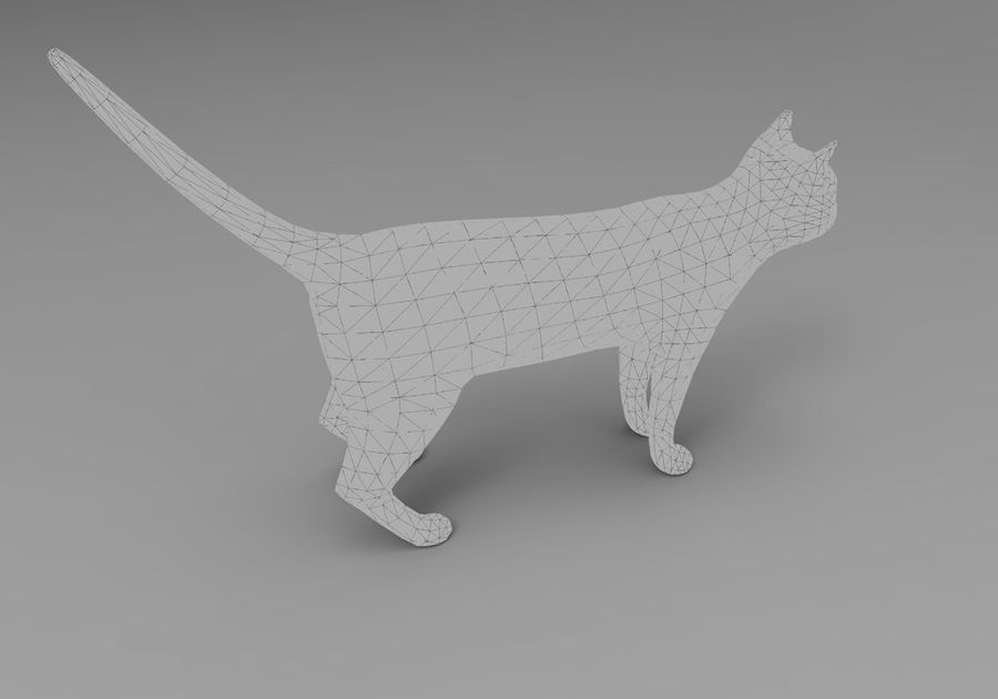 猫のアニメーション(1) royalty-free 3d model - Preview no. 27