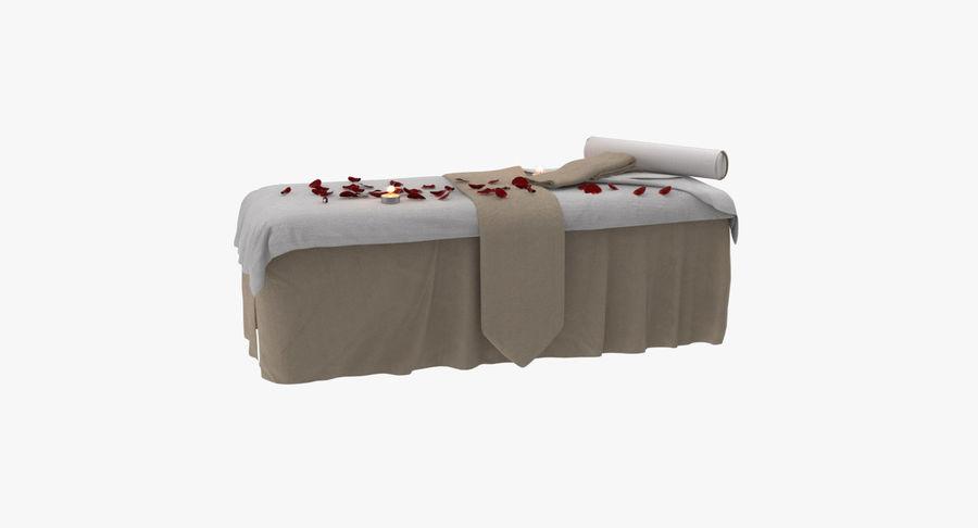 Spa och avkopplande säng royalty-free 3d model - Preview no. 11