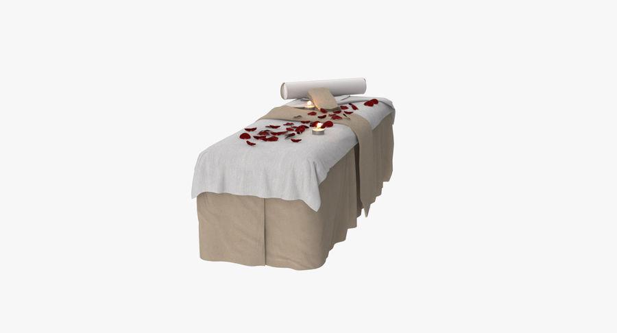 Spa och avkopplande säng royalty-free 3d model - Preview no. 12
