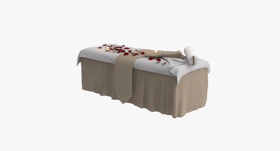 Spa och avkopplande säng royalty-free 3d model - Preview no. 10