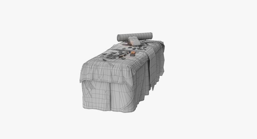 Spa och avkopplande säng royalty-free 3d model - Preview no. 23