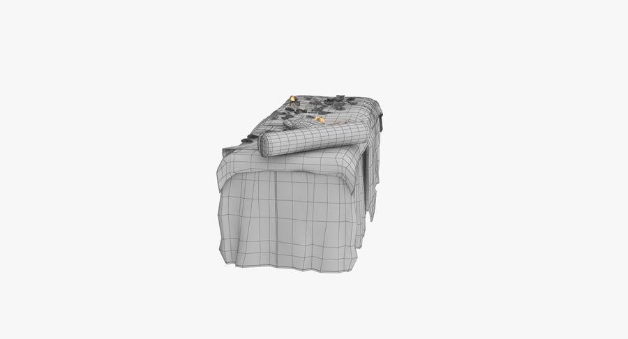 Spa och avkopplande säng royalty-free 3d model - Preview no. 20