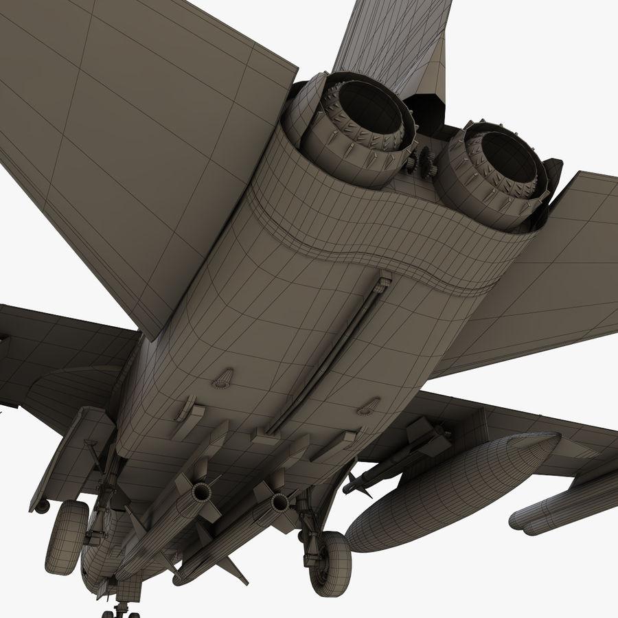 Panavia Tornado royalty-free 3d model - Preview no. 28