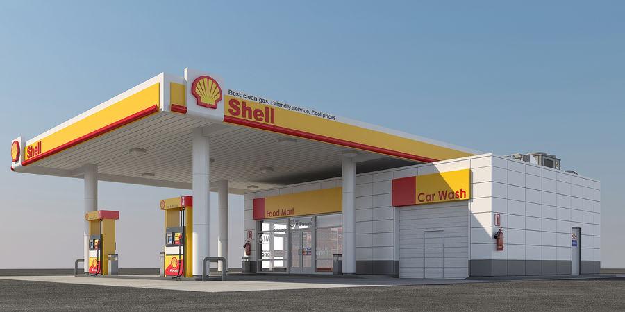 Shell free gas