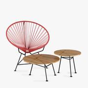 Innit stoelentafel 3d model