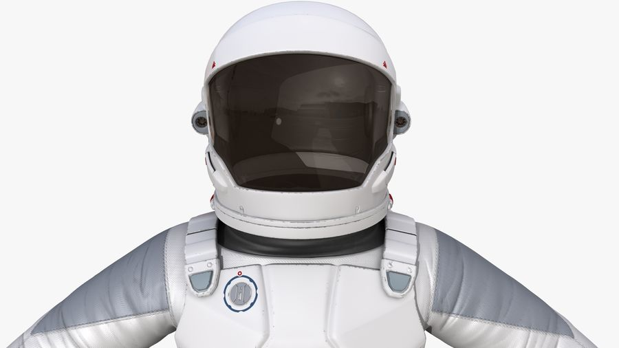 Space suit royalty-free 3d model - Preview no. 9