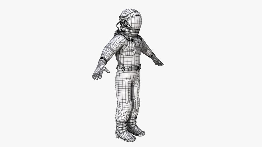 Space suit royalty-free 3d model - Preview no. 18