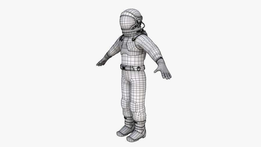 Space suit royalty-free 3d model - Preview no. 15