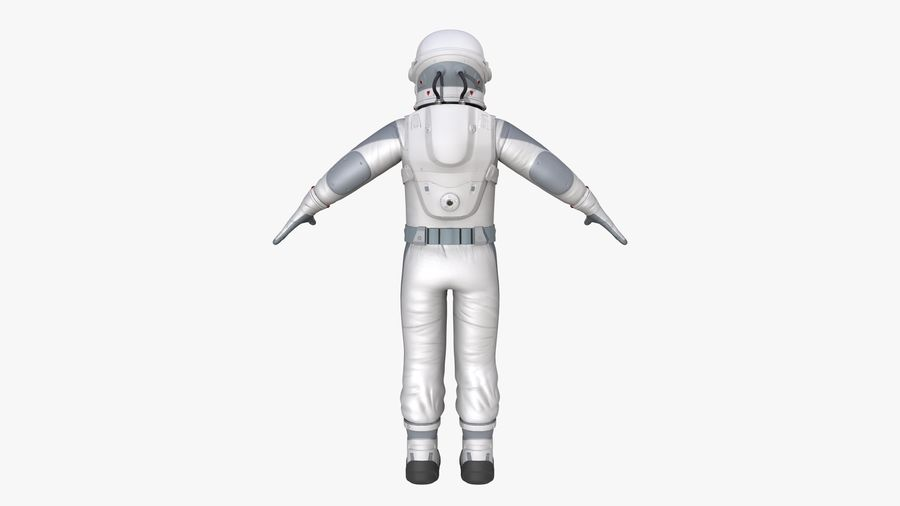 Space suit royalty-free 3d model - Preview no. 6