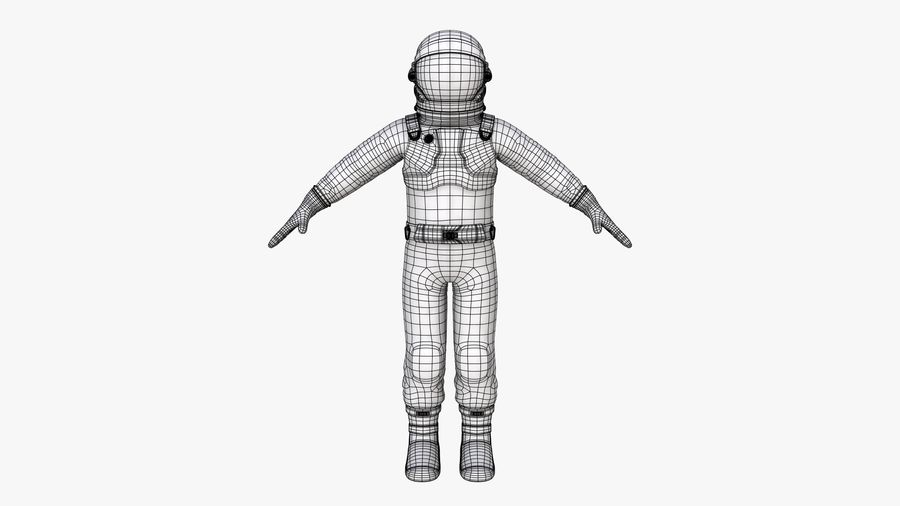 Space suit royalty-free 3d model - Preview no. 14