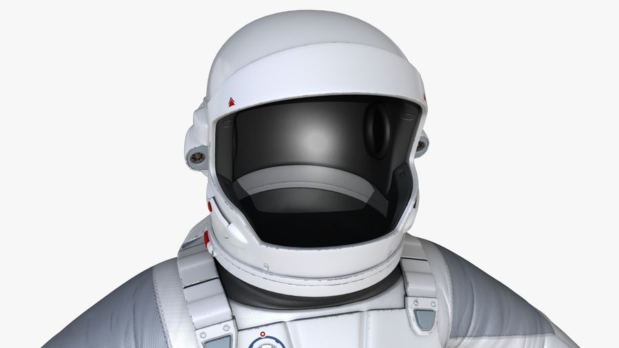 Space suit royalty-free 3d model - Preview no. 10