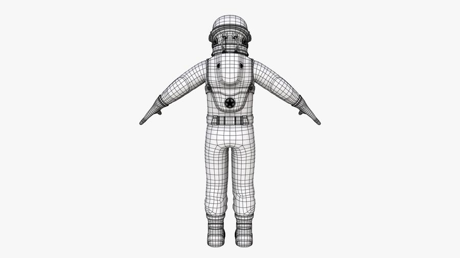 Space suit royalty-free 3d model - Preview no. 17