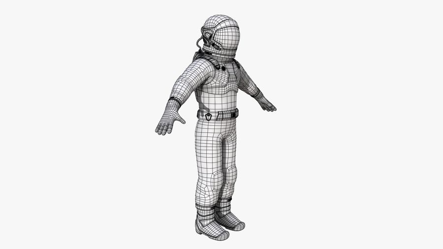 Space suit royalty-free 3d model - Preview no. 19