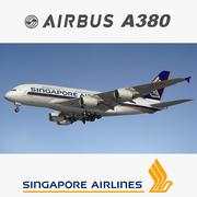 A380 Singapore Airlines 3d model