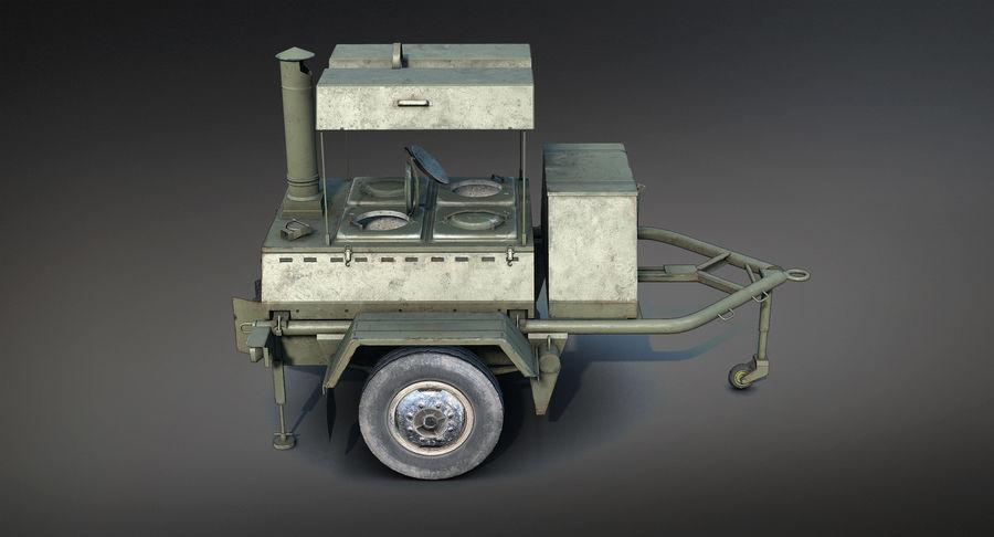 KP-130フィールドキッチン royalty-free 3d model - Preview no. 9