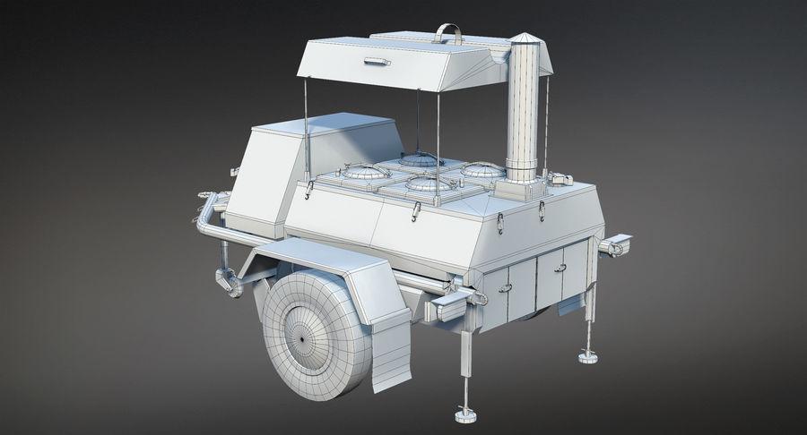 KP-130フィールドキッチン royalty-free 3d model - Preview no. 12