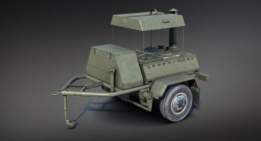 KP-130フィールドキッチン royalty-free 3d model - Preview no. 2