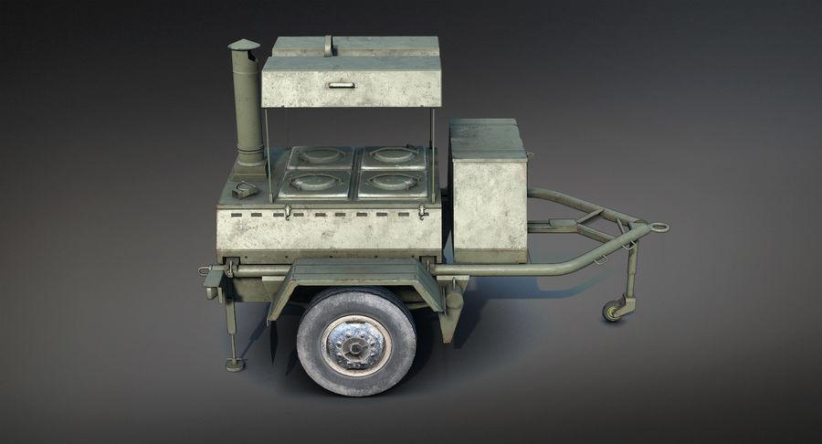 KP-130フィールドキッチン royalty-free 3d model - Preview no. 8