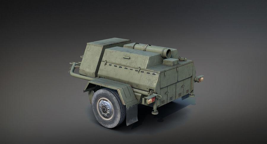 KP-130フィールドキッチン royalty-free 3d model - Preview no. 7