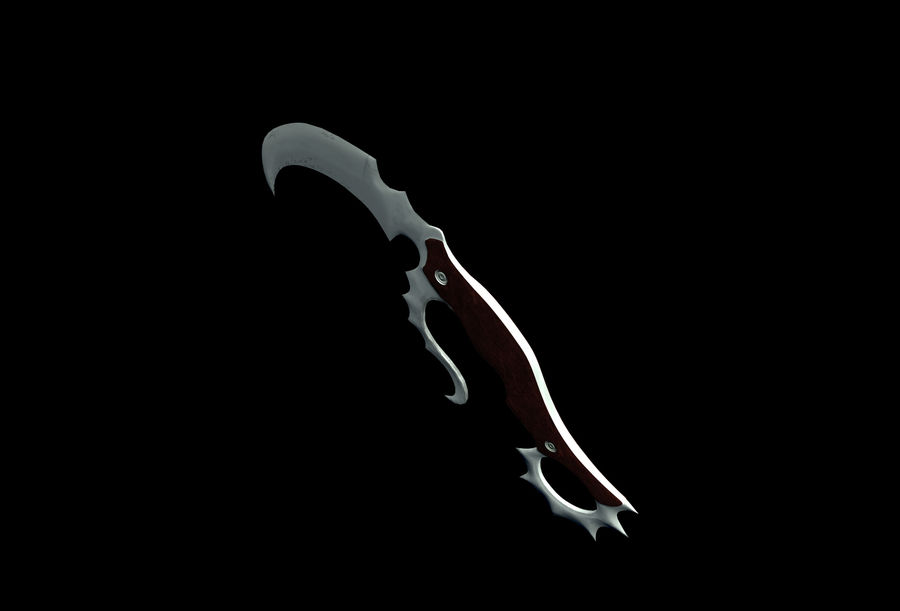 Dagger royalty-free 3d model - Preview no. 4