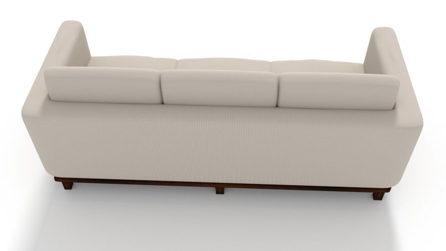 Sofa Holly Hunt Guild royalty-free 3d model - Preview no. 2