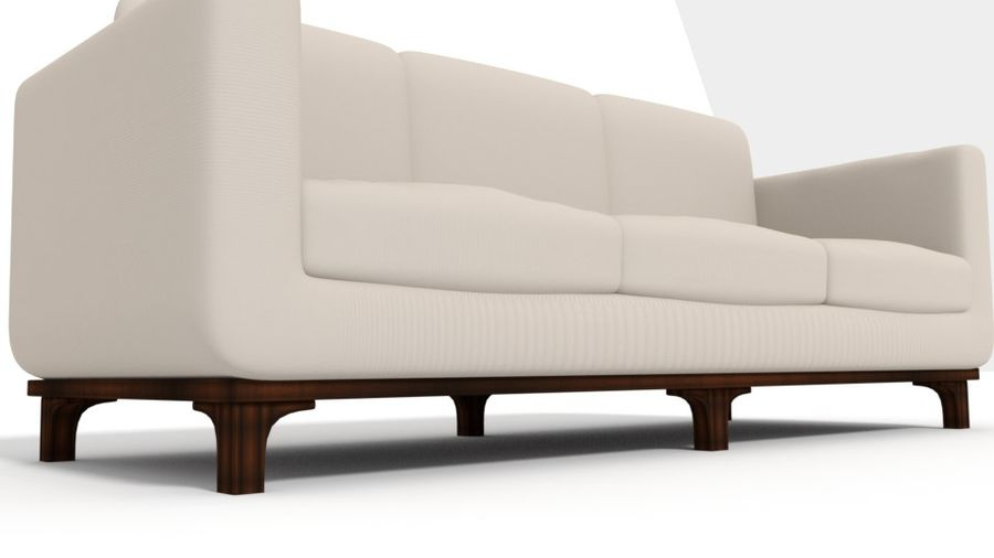 Sofa Holly Hunt Guild royalty-free 3d model - Preview no. 3